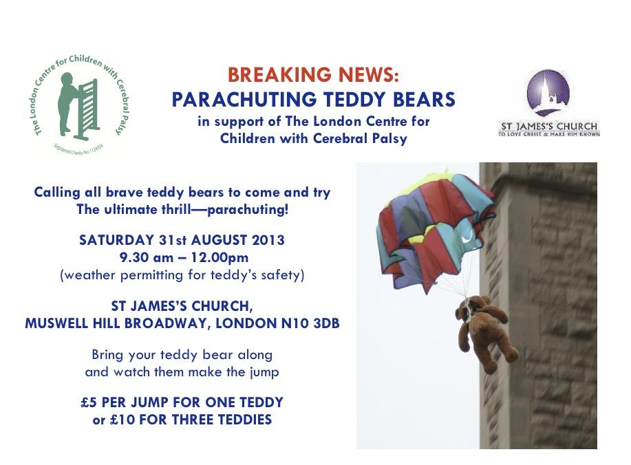 Parachuting Teddy Information