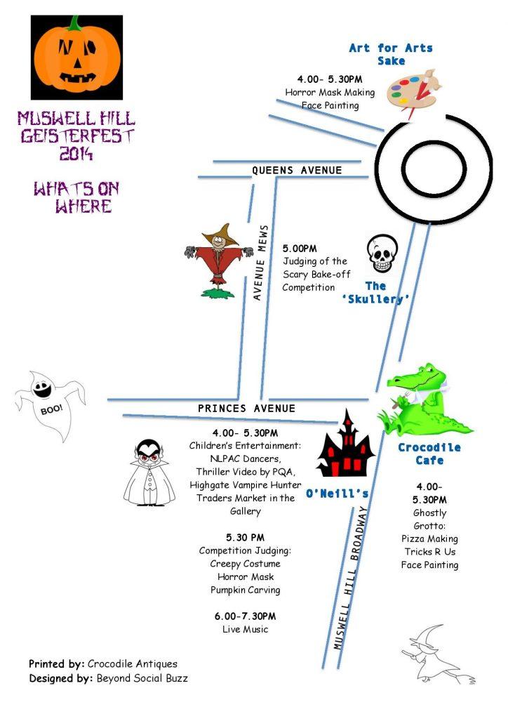 Map Geisterfest