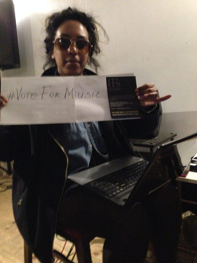 #VoteForMusic